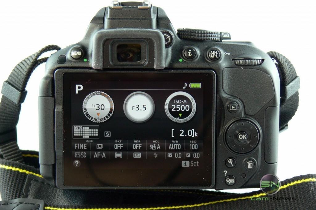 Nikon D5300 - Short-Einstellungsübersicht - SmartCamNews