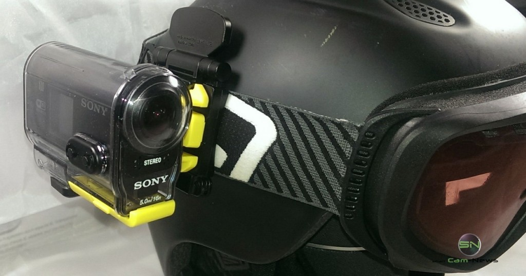 Sony HDR AS30V in Aktion SmartCamNews