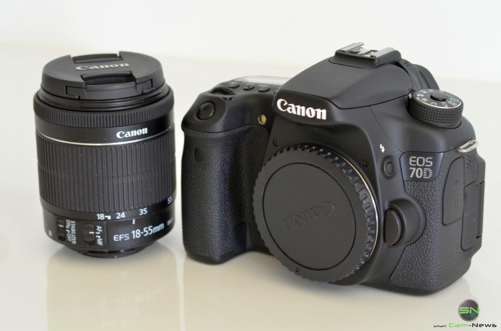 Canon EOS 70D - Body und Kitobjektiv - smartcamnews.eu