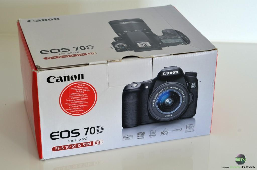 Canon EOS 70D - Verpackung - smartcamnews.eu
