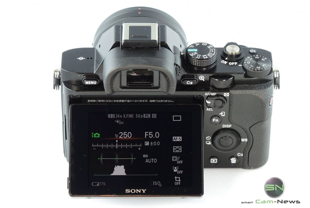 Display inkl Kontrollmonitorfunktion - Sony Alpha 7 - SmartCamNews