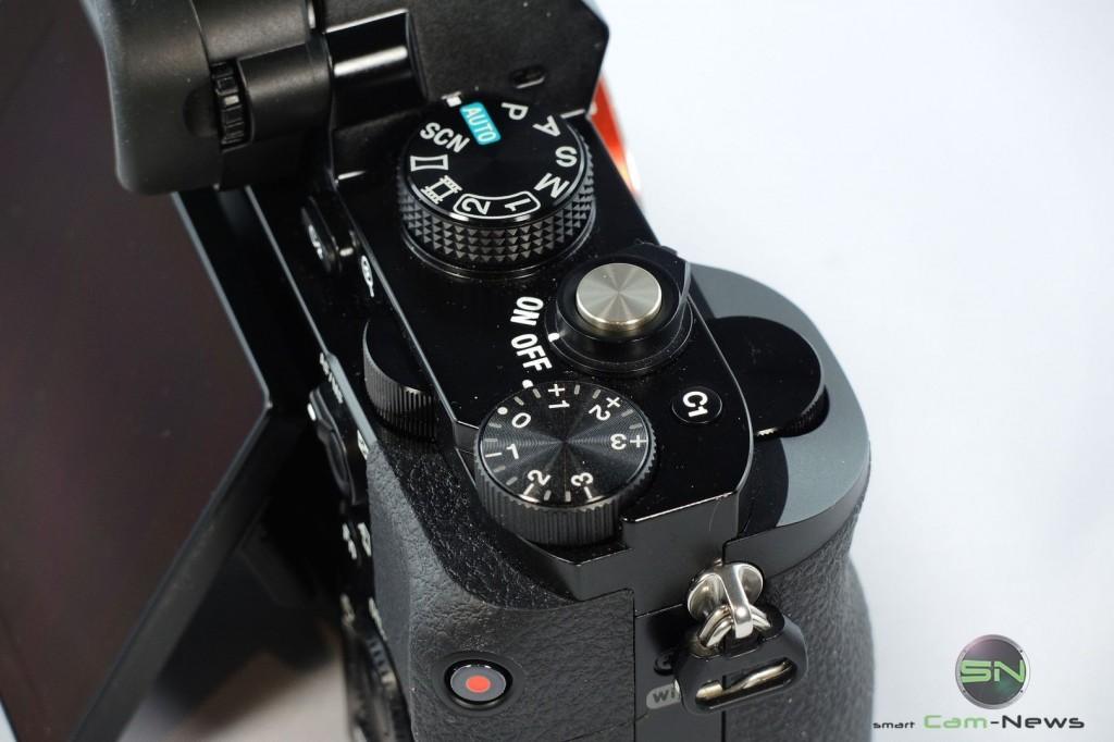 Funktionstasten mit Belichtungskorrektur - Sony Alpha 7 - SmartCamNews