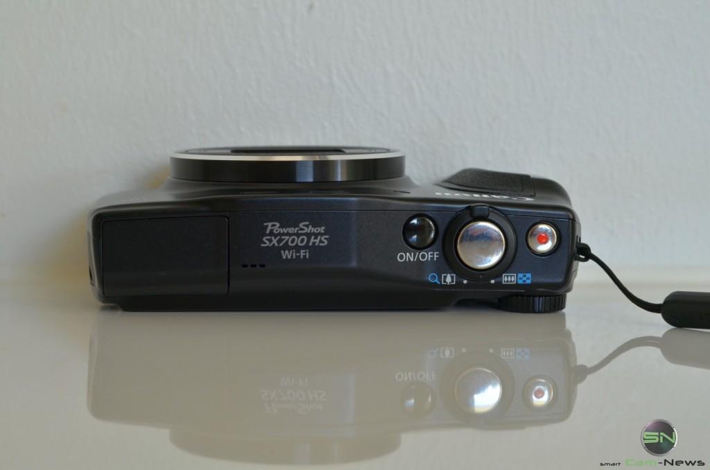 Draufsicht - Canon SX700