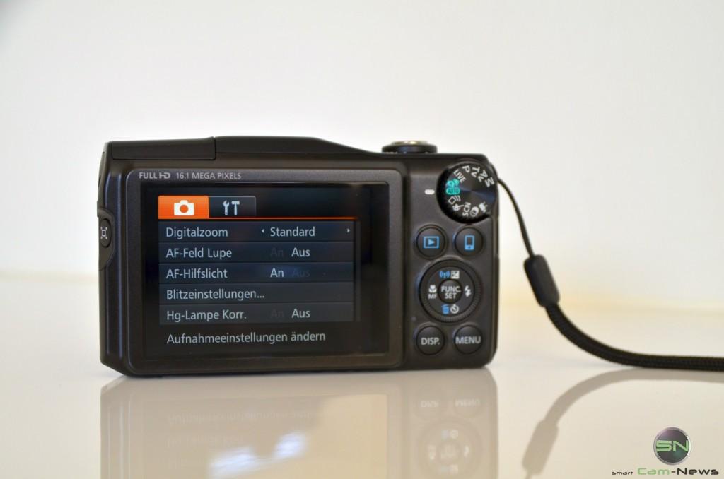 Menü - Canon SX700