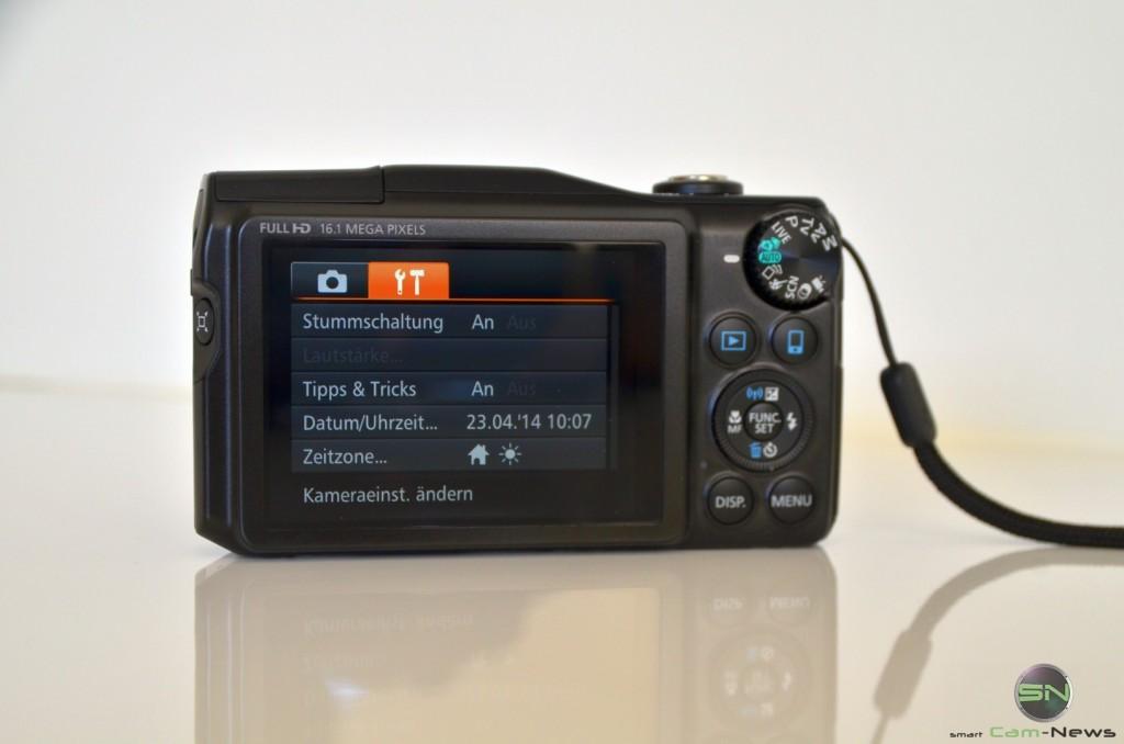 Grundeinstellungen - Canon SX700