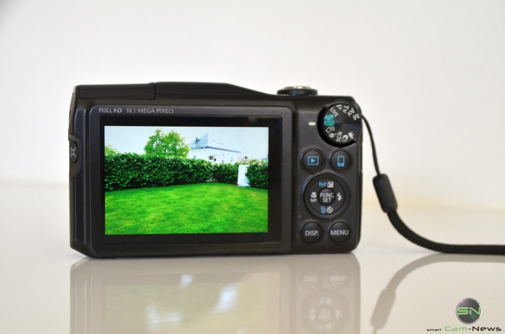 Display - Canon SX700