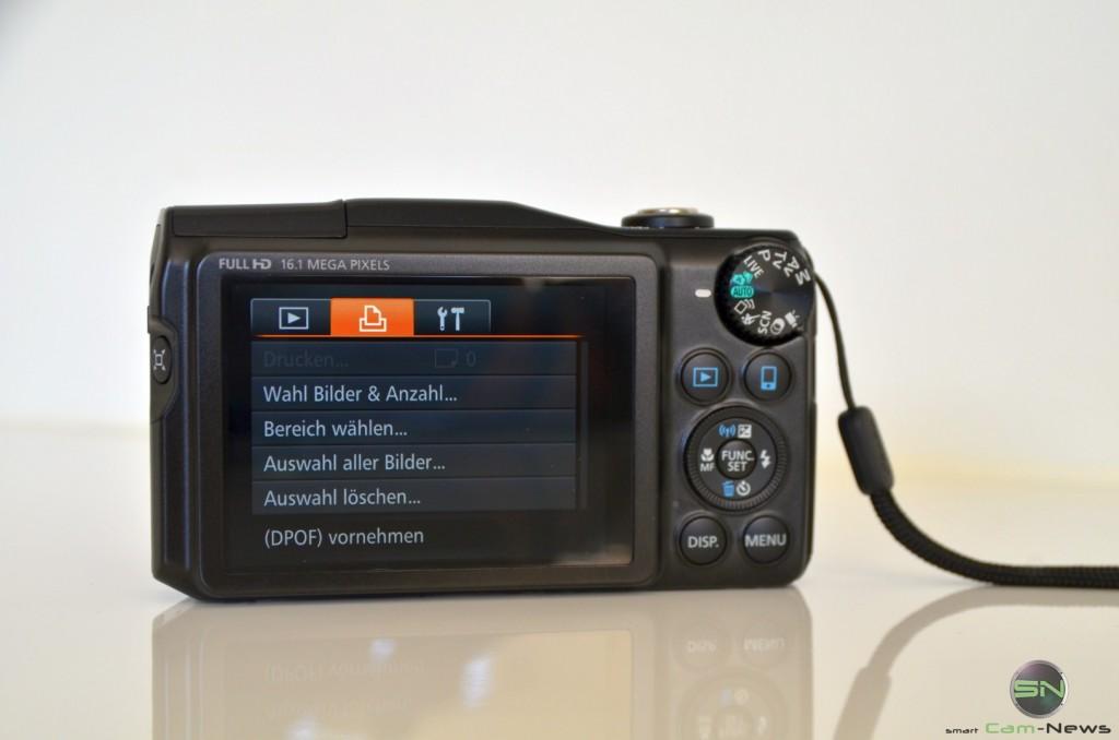Druckmenü - Canon SX700
