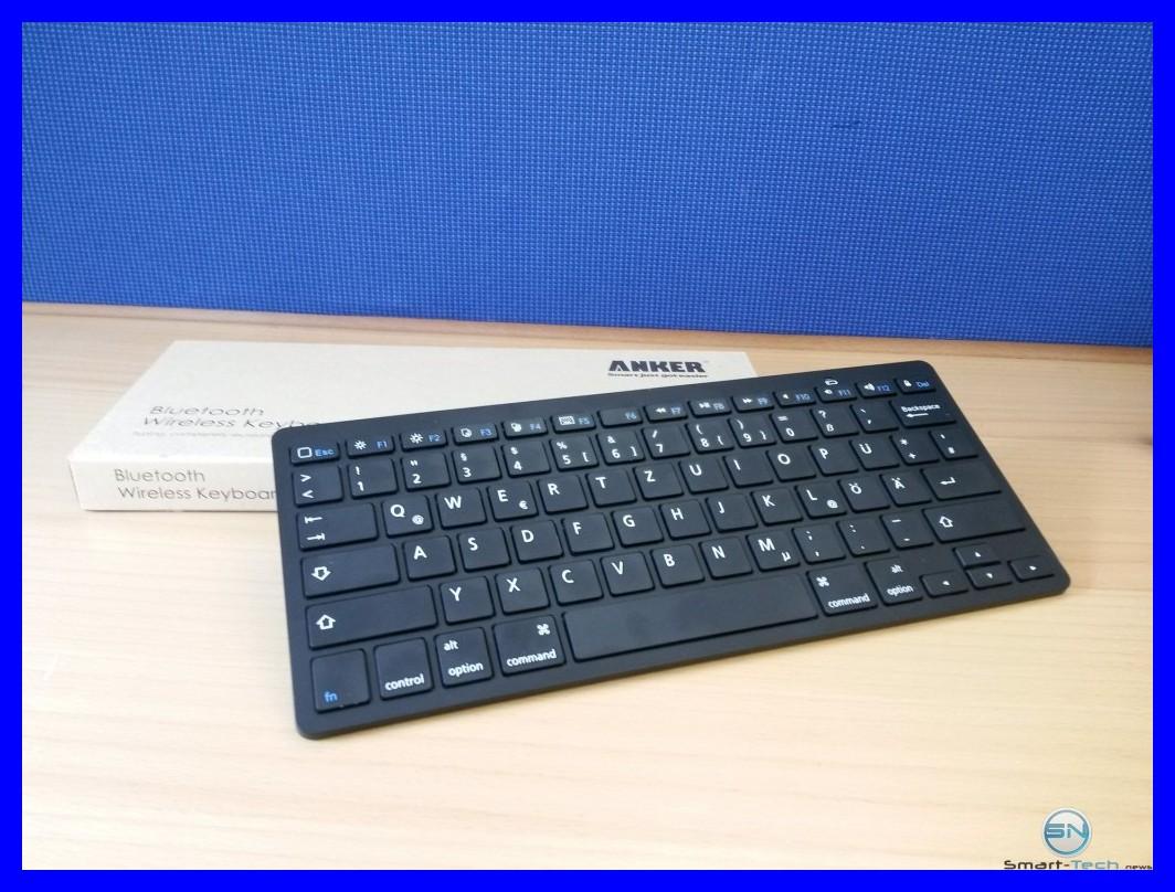 Bluetooth Tastatur von Anker im Test