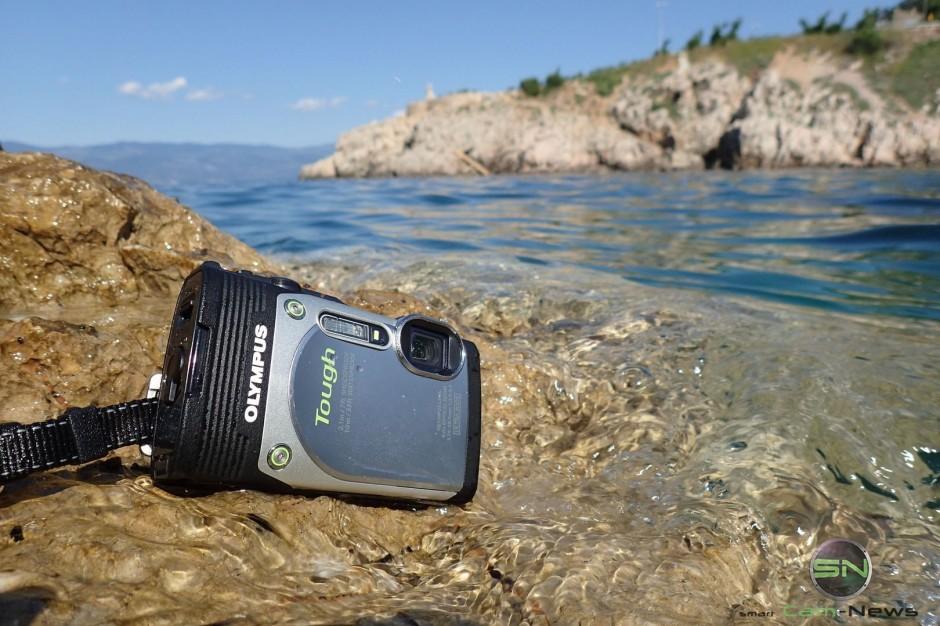 Begegnung mit dem Wasser - Olympus TG 850 - SmartCamNews