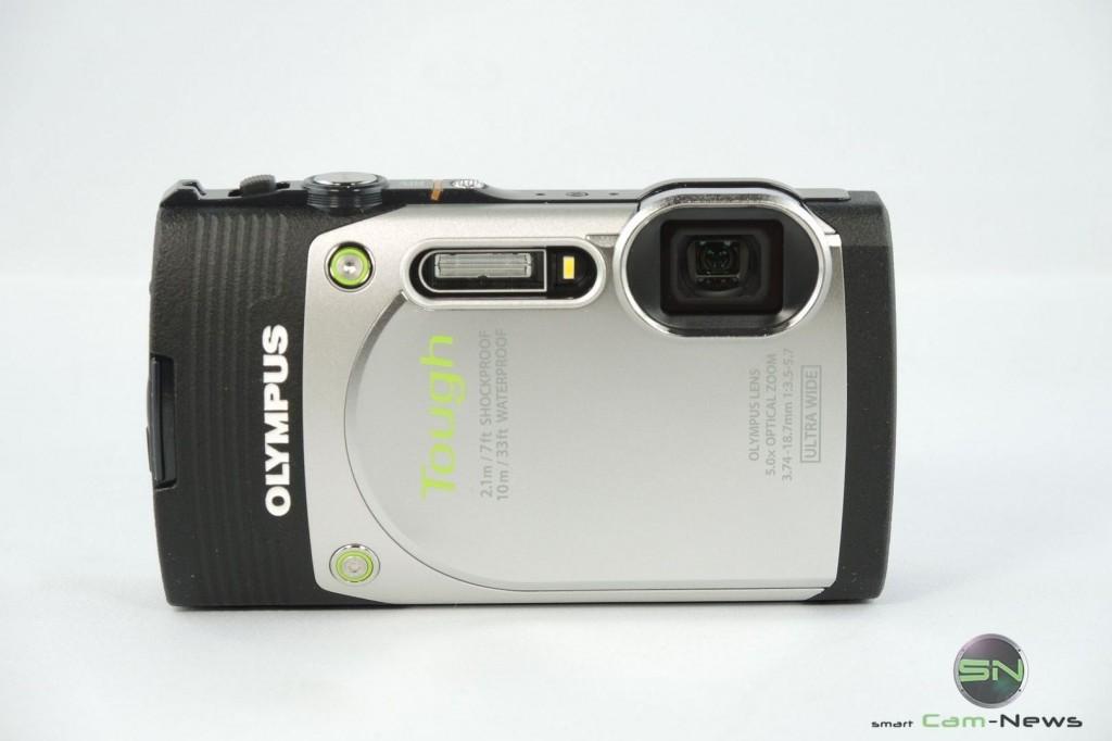 Front Ansicht - Olympus TG 850 - SmartCamNews