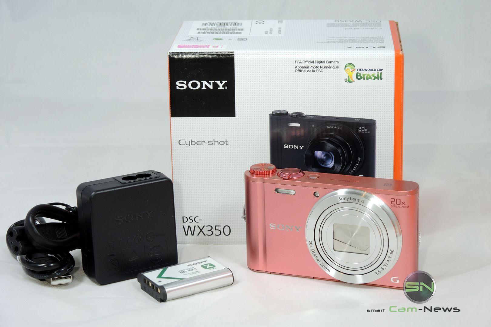 Unboxing - Sony WX350 - Pocket Kamera - SmartCamNews