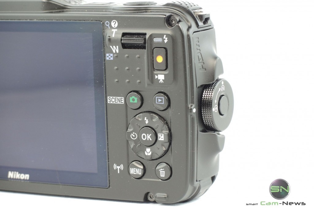 Bedienelemente - Nikon AW120 - SmartCamNews