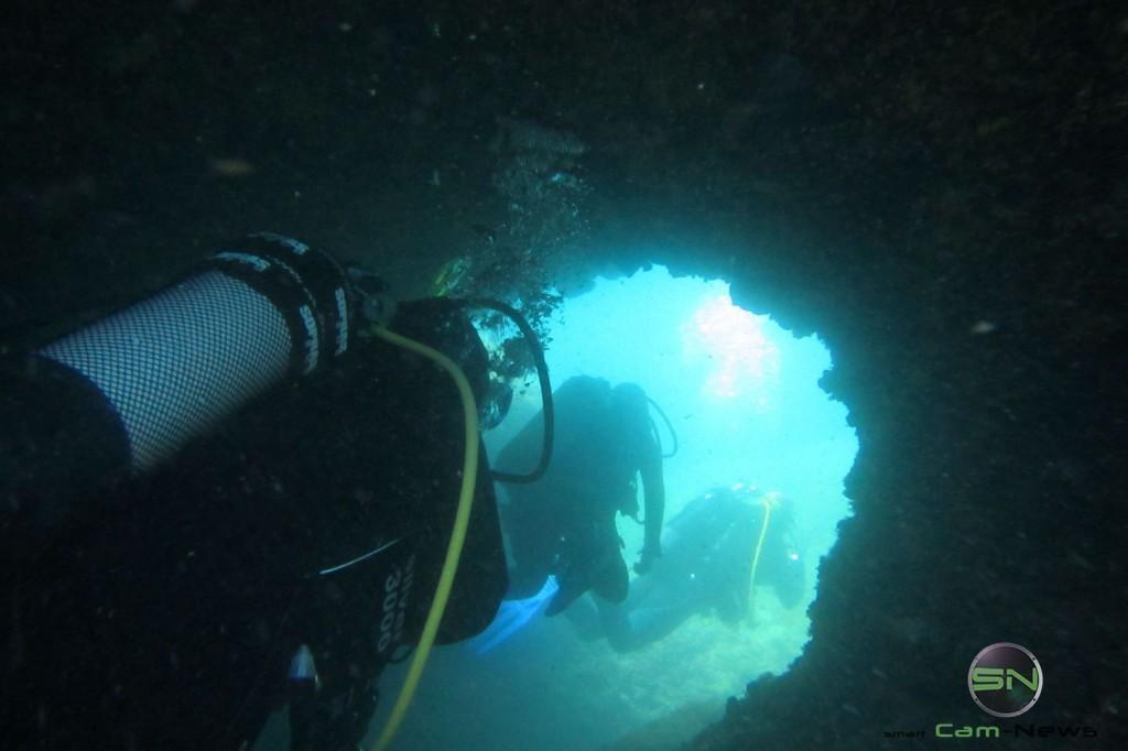 Höhlenausgang - Canon D30 - SmartCamNews