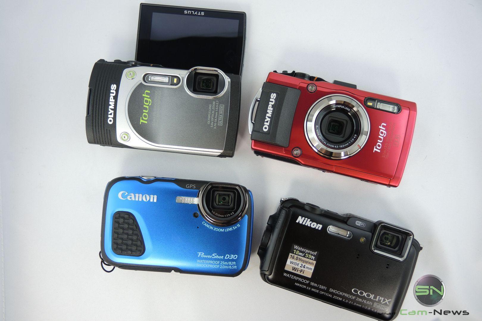 REISE nach KROATIEN: Outdoor Kamera Test 2014 – Olympus, Nikon, Canon im Vergleich