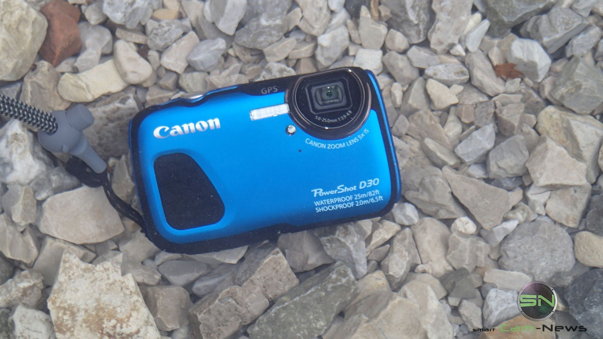 Canon PowerShot D30 – Outdoor Diving Profi unter den Kompakten