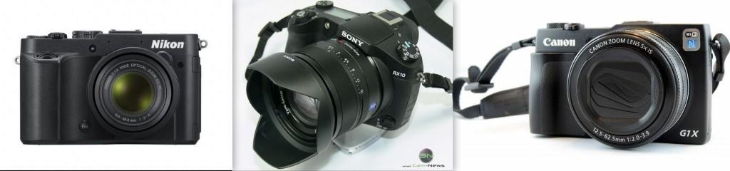 Nikon P7700, Sony RX10, Canon G1x markII - SmartCamNews