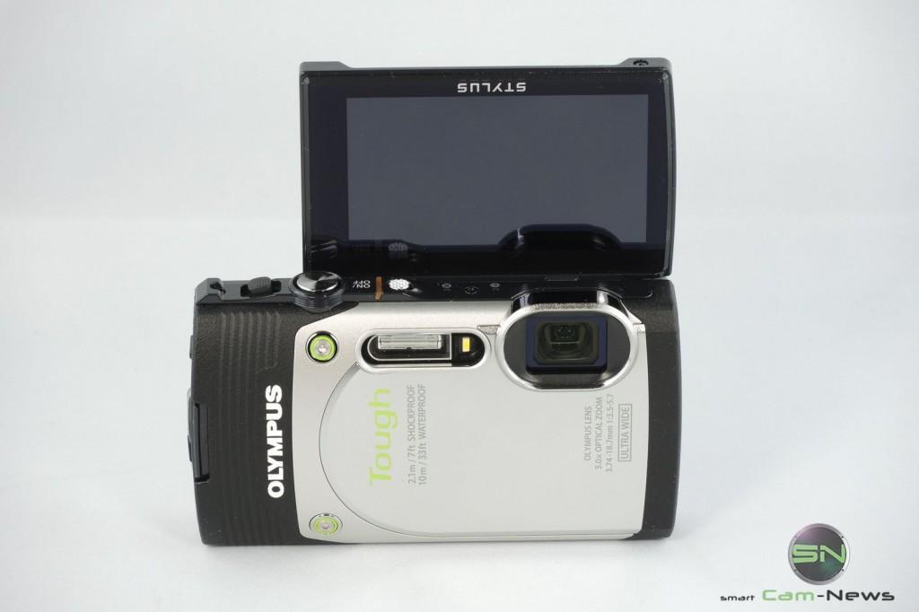 Selfie Klappdisplay - Olympus TG 850 - SmartCamNews