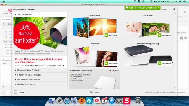 Produktauswahl - Saal Digital Fotobuch - SmartCamNews