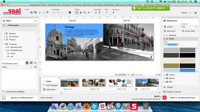 Gesamtansicht - Saal Digital Fotobuch - SmartCamNews