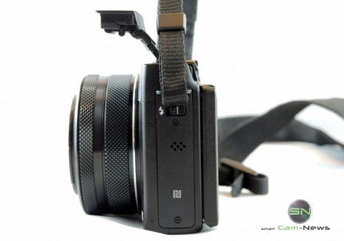 Blitzklappe - Canon G1x mark II - SmartCamNews