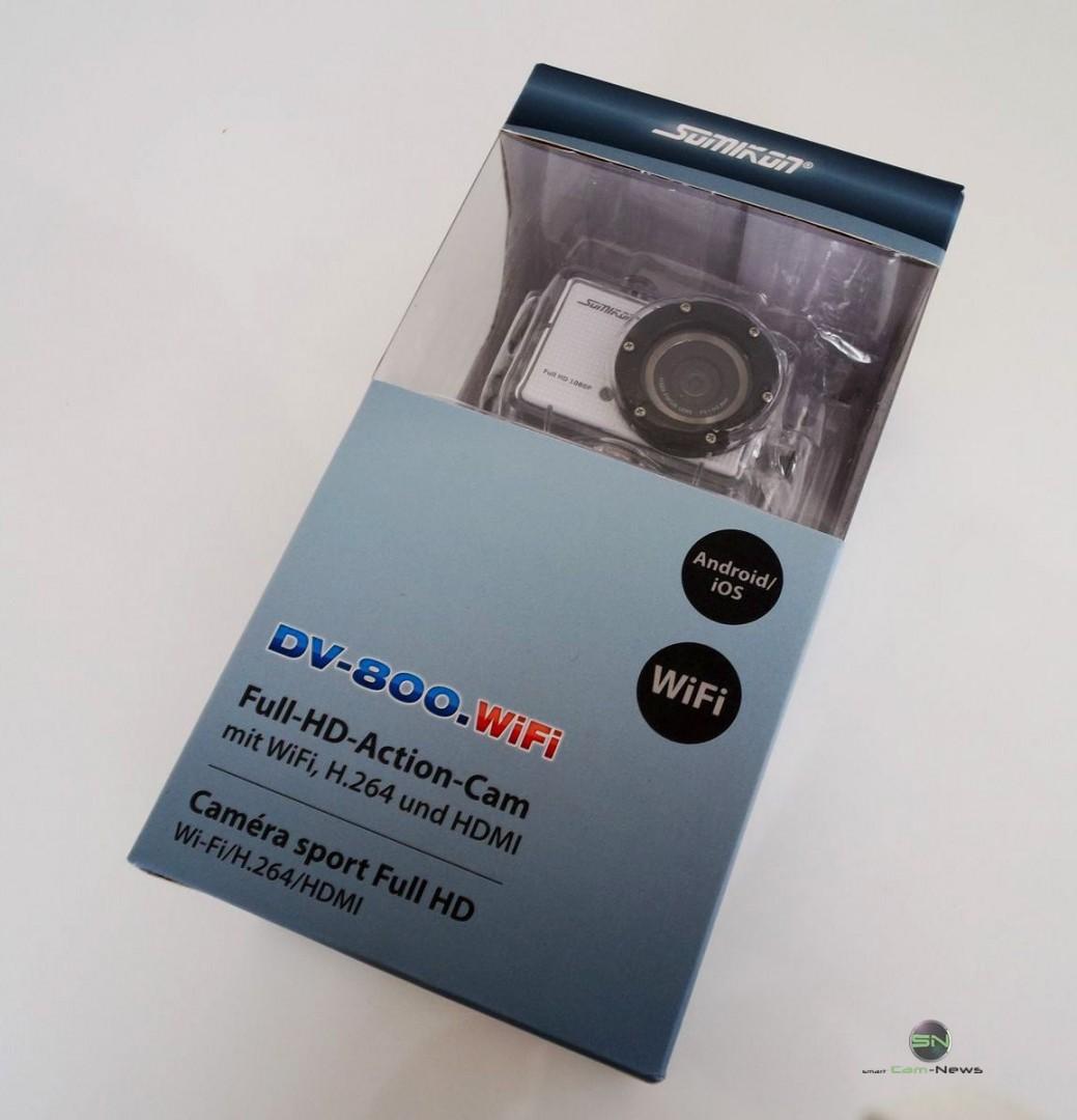 Verpackung - Somikon DV800Wifi - SmartCamNews