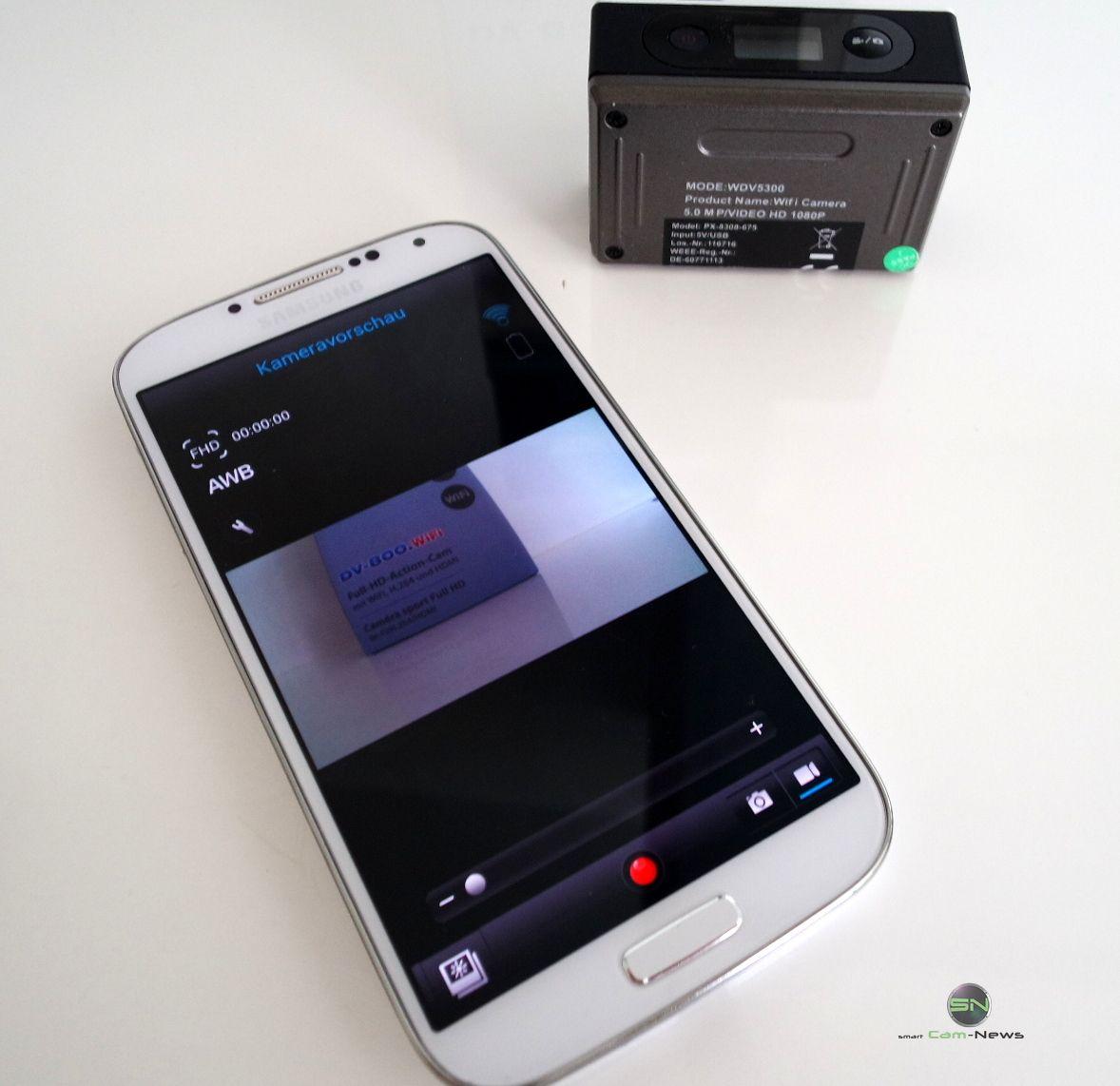 Verhüten Mit Dem Smartphone: Somikon DV-800.Wifi Beim Bungee Jump