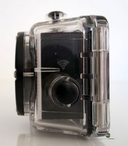 Kamera im Gehäuse - Somikon DV800Wifi - SmartCamNews