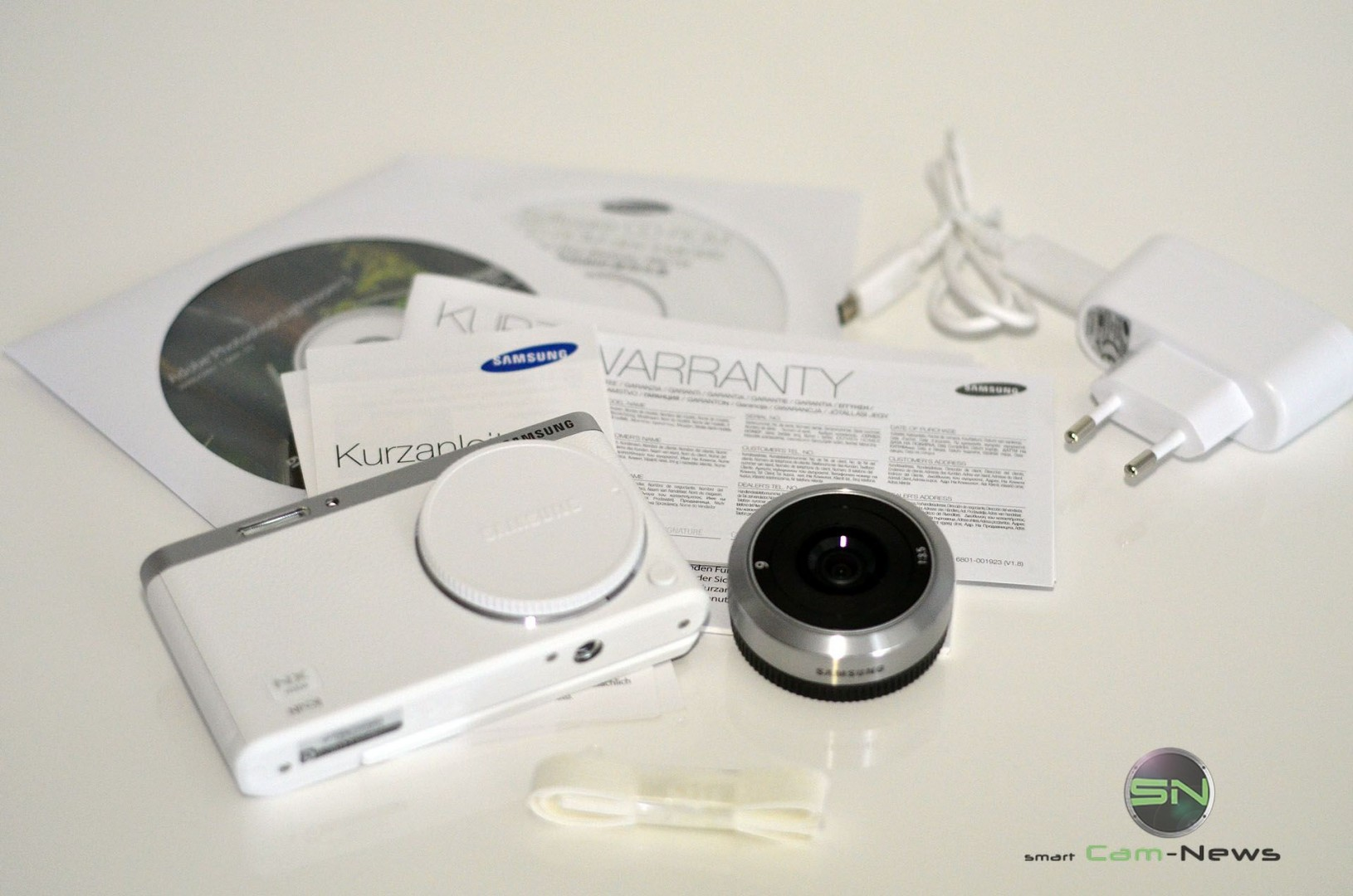 Lieferumfang - Samsung NX Mini