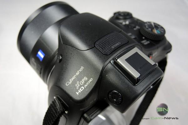 Ansicht Oben - Unboxing - Sony WX400V - Bridge Kamera - SmartCamNews