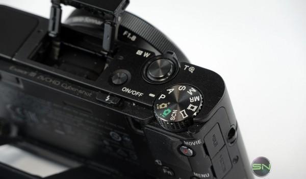 Bedienelemente - Sony RX100 mIII