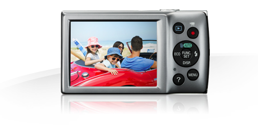 IXUS 165 Display