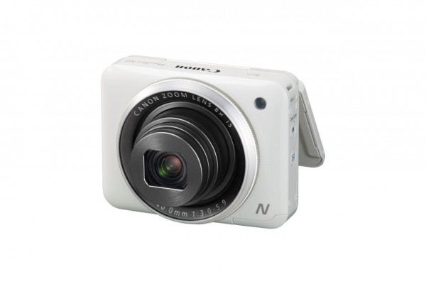 PowerShot N2 White FSL LCD 45 degrees