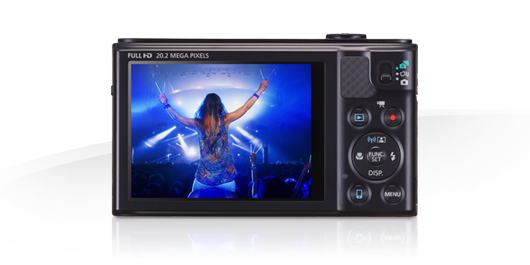 PowerShot SX610 HS Display