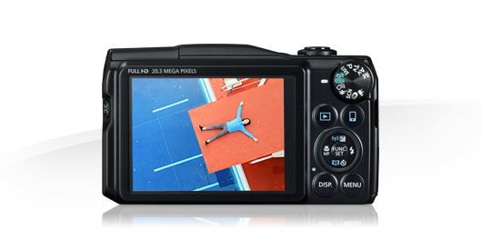 PowerShot SX710 HS Display