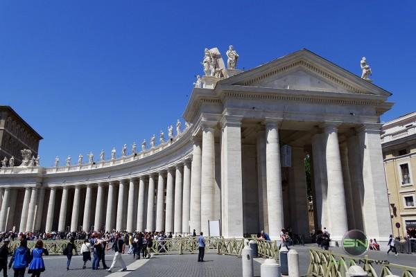 Rom Säulengebäude, Sony HX400V, SmartCamNews
