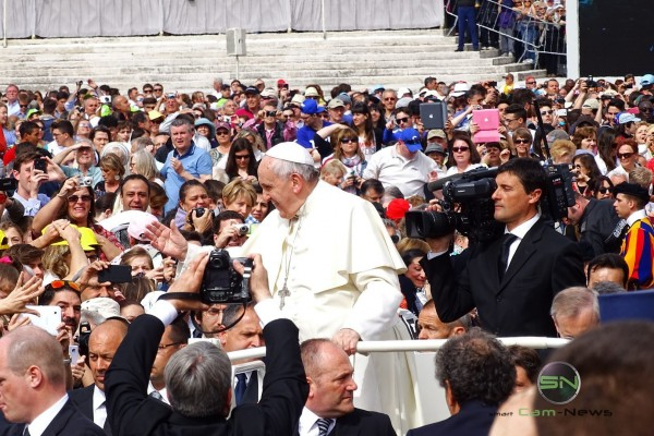 Rom der heilige Vater, Sony HX400V, SmartCamNews