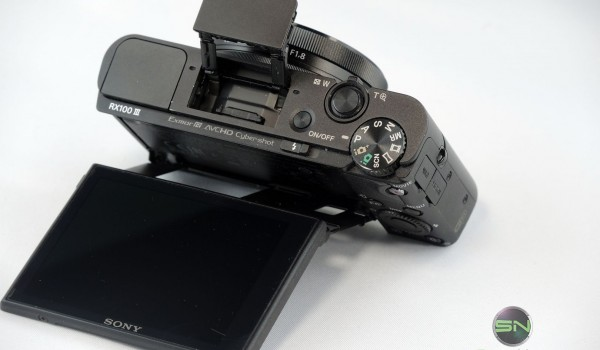 obere Bedienelemente - Sony RX100 mIII - SmartCamNews