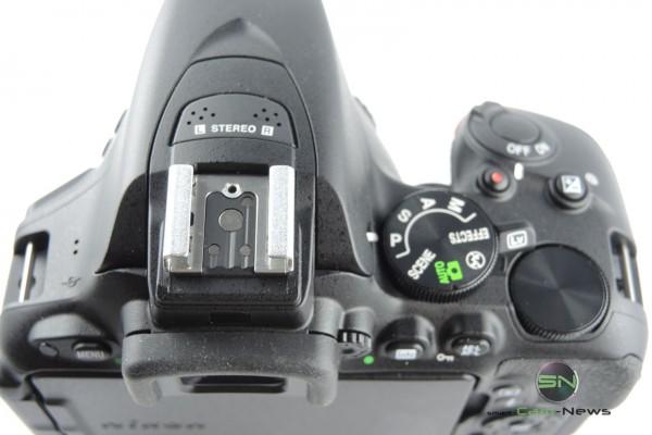 Blitzschuh - Nikon D5500 - SmartCamNews