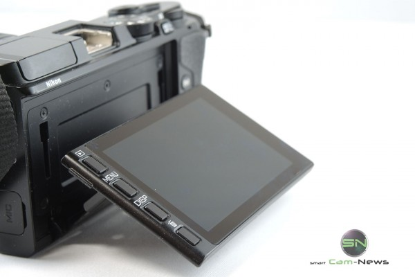Klappdisplay Nikon V3 - SmartCamNews