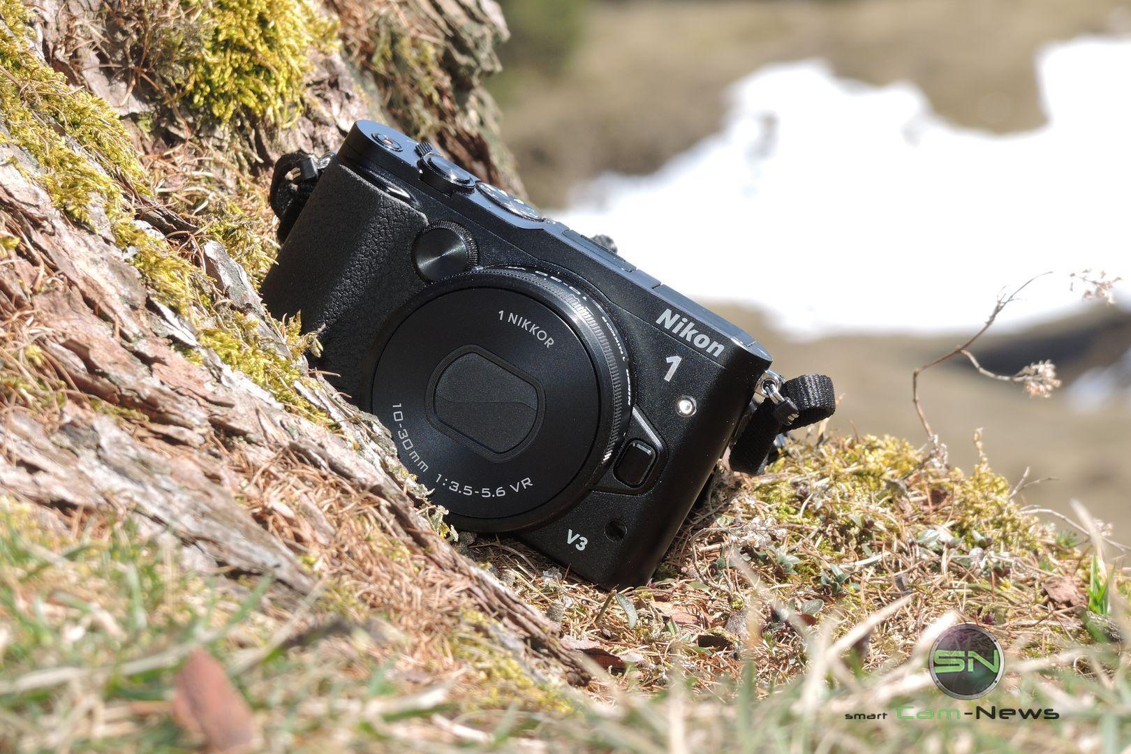 Nikon 1 V3 – Die Schlankheitskur bei Systemkameras