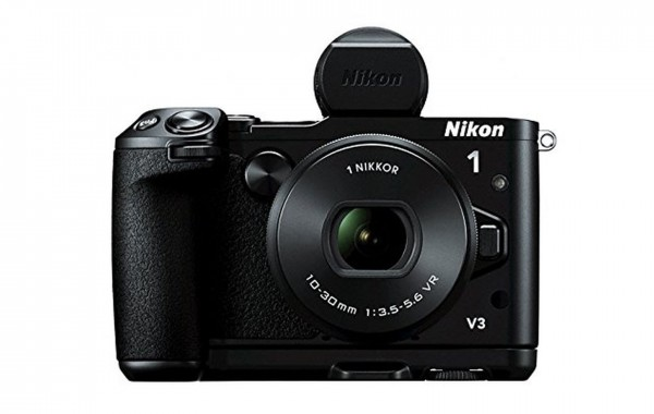 Nikon 1 V3 mit Sucher und Griff - SmartCamNews