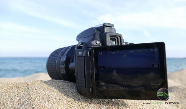 Nikon D5500 Klapptdisplay Barcelona - SmartCamNews