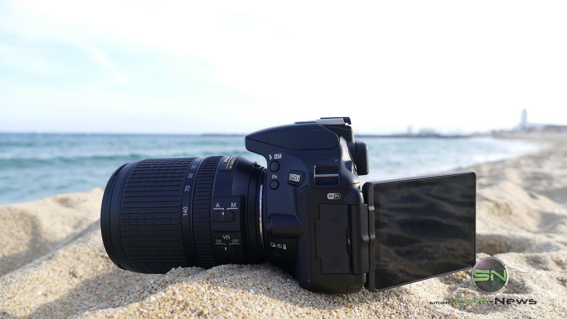 REISE nach BARCELONA: Nikon D5500 Touchscreen DSLR mit einem Hauch von Semiprofi