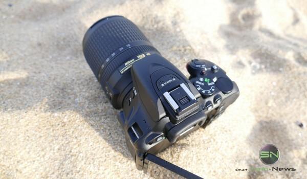 Nikon D5500 am Strand Barcelona - SmartCamNews.JPG
