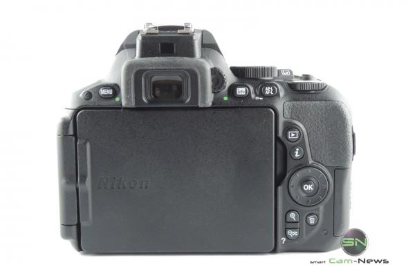 Rückseite Nikon D5500 - SmartCamNews