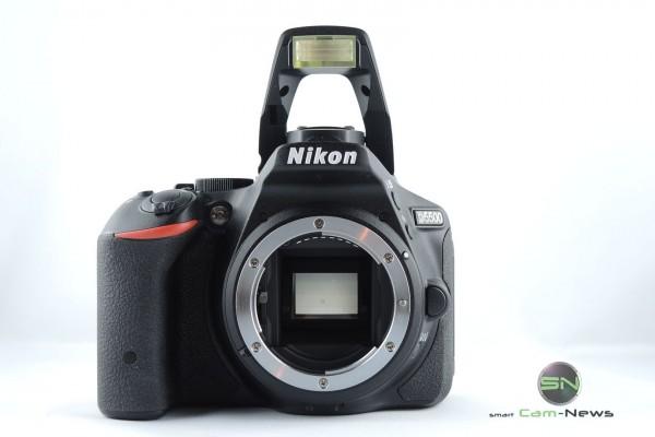 Sensor und Blitz Nikon D5500 - SmartCamNews