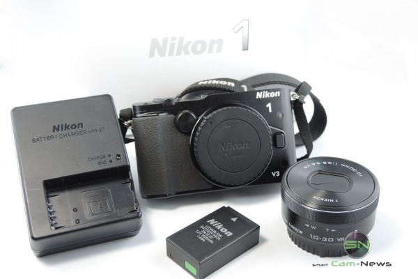 Unboxing Nikon 1 V3 - SmartCamNews