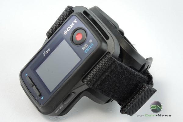 Handgelenk Fernbedienung mit Display - Sony HDR AZ1 - SmartCamNews