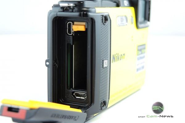Akku SD Ladebuchse Nikon AW130 - SmartCamNews