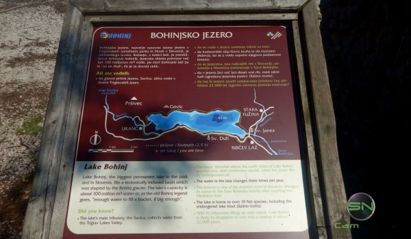 Bohinjsko Jezero Lake Slowenien - Nikon AW130 - SmartCamNews